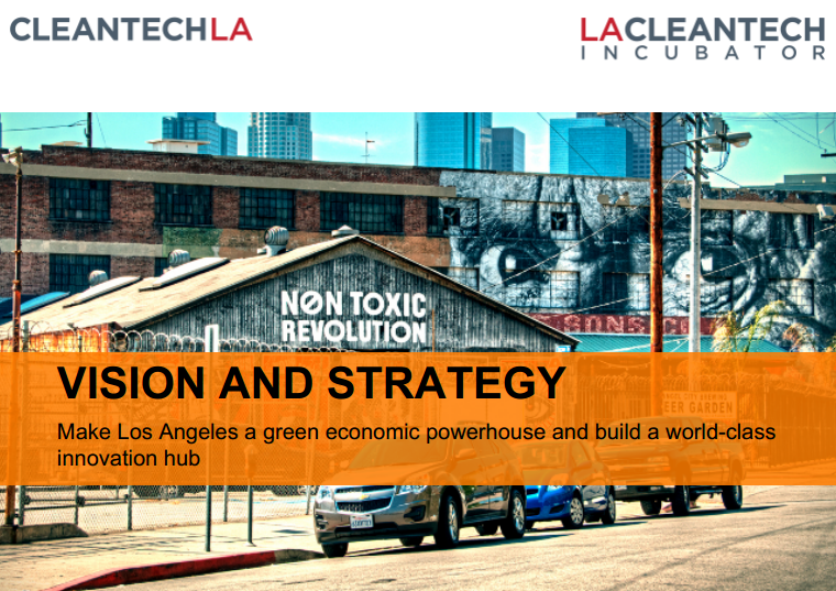 Building an innovation economy in los angeles for for Los angeles innovation consultants
